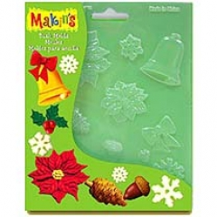 [특가판매]MC39008-Makins Push Molds / Christmas Nature
