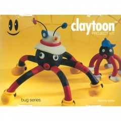 Claytoon Project Kit: Bugs-Mommy Spider[특가판매]