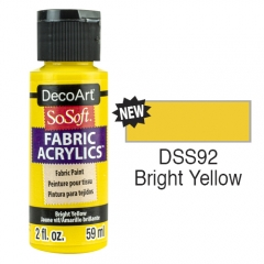 SoSoft Fabric Color-2oz(59ml)-DSS92-Bright Yellow