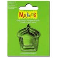 36027-Makin`s Cutter Set 3P / Cake