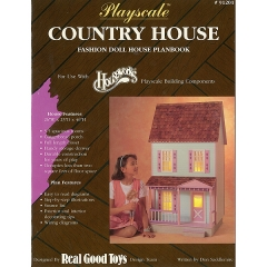 [특가판매]#91201 Playscale Country Hse Plan Book