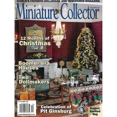 [특가판매]Miniature Collector - 2011.12(DECEMBER)