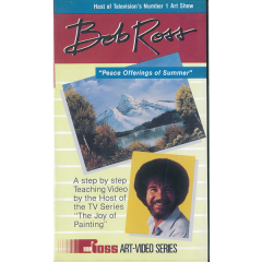 [특가판매] Bob Ross-TBR01-VHS Peace Offerings of Summer